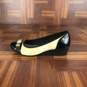 ANNE KLEIN DALFON Slip On Wedge Heels